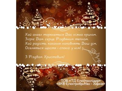 З Різдвом Христовим 2016!
