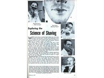 80 лет назад в США началось производство первых электрических бритв